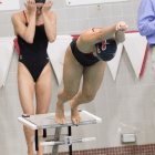 The women's swimming and diving team has not had the results it was hoping for thus far in 2017.