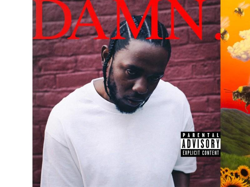 From left to right: Kitty's Miami Garden Club, Kendrick Lamar's DAMN., Tyler, The Creator's Flower Boy.