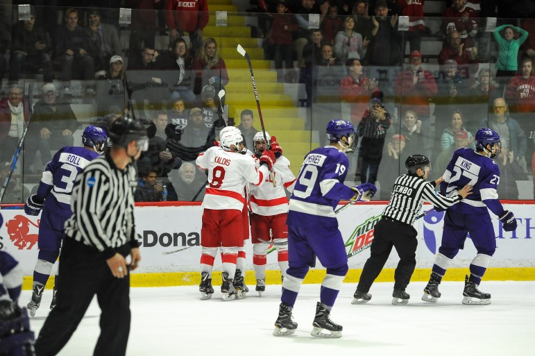 Cornell's win over Niagara, in which it had to put together a comeback, was one of several nail-biting wins Cornell has had thus far.