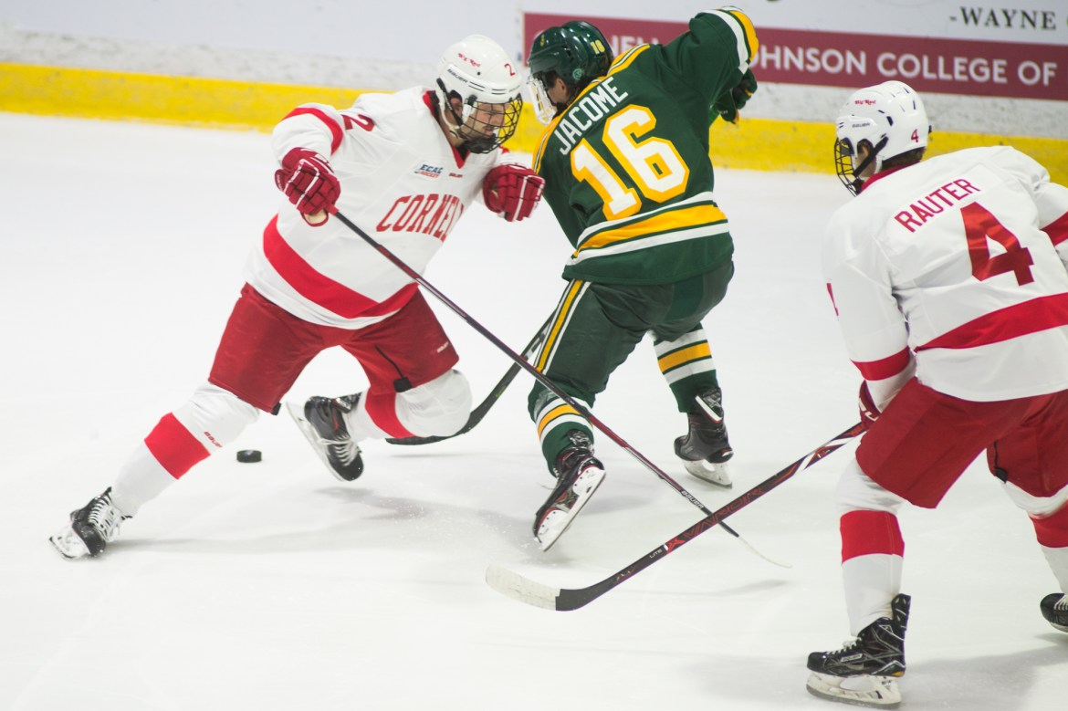 Owner's of a four game winning streak, No. 4 Cornell faces off against Ivy League opponents Yale and Brown this weekend.