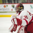 Freshman goaltender Matt Galajda has continued to turn heads, this week garnering national attention.