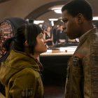 Rose (Kelly Marie Tran) and Finn (John Boyega) in Star Wars: The Last Jedi