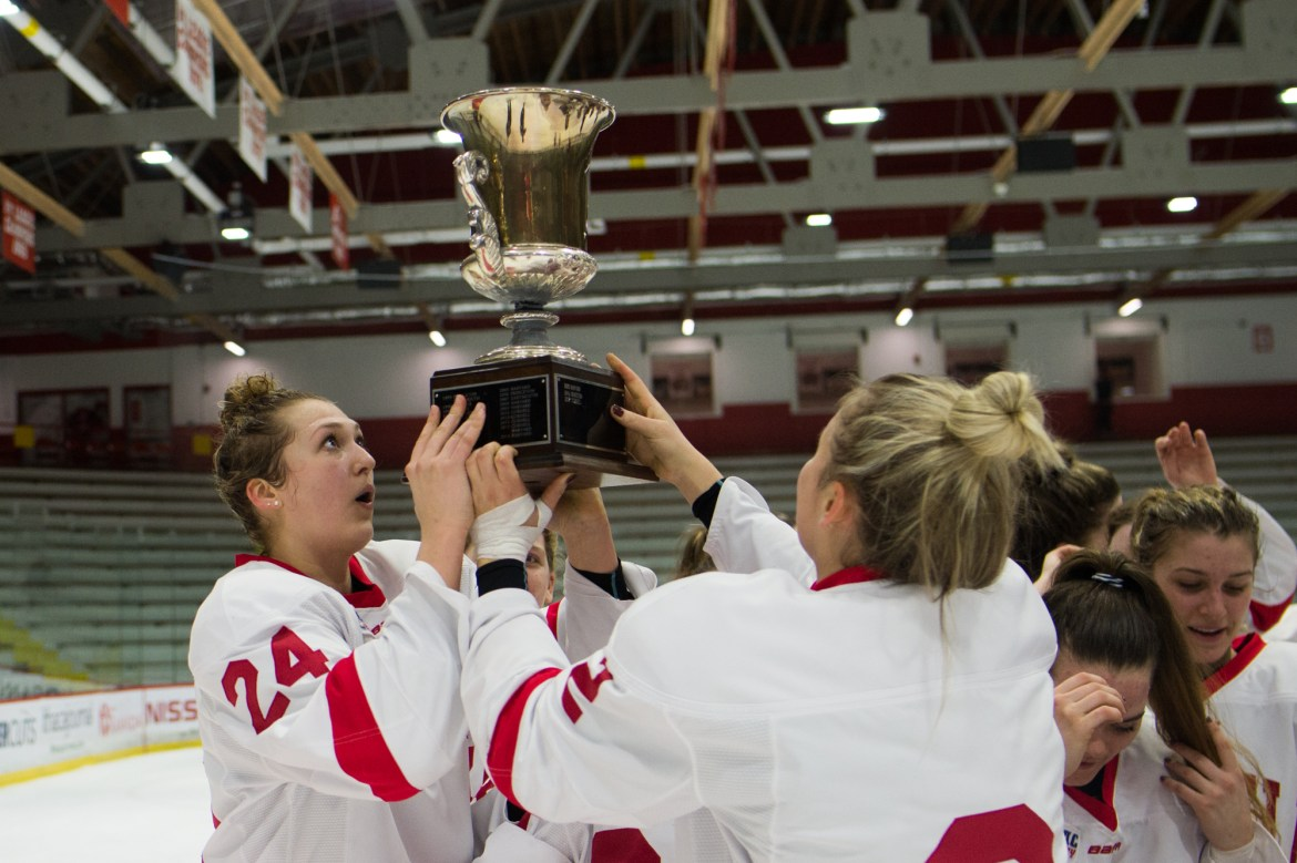 The Red clinched an Ivy League title last weekend after it defeated Brown.