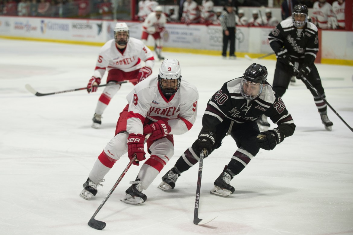 The Red is just one win or tie away from clinching the ECAC's regular-season title.