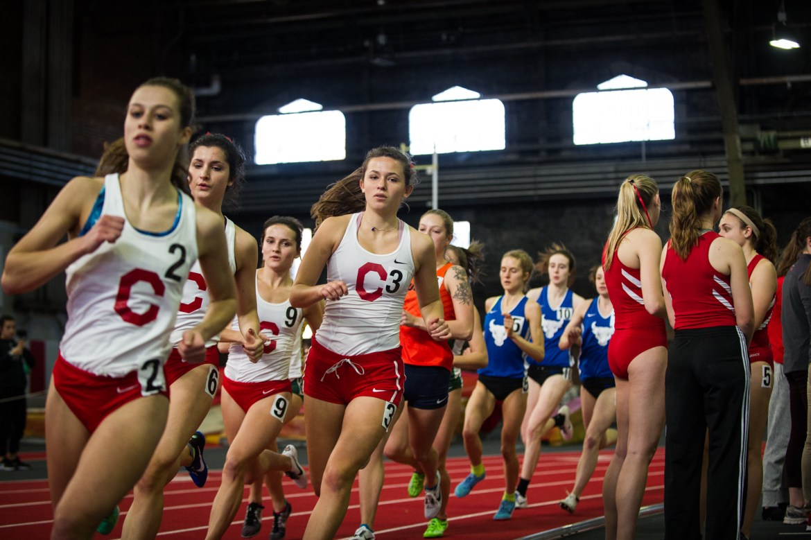 The Red's men's and women's teams both earned disappointing fifth-place finishes at the Ivy Heps.