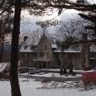 The Zeta Beta Tau fraternity house on North Campus. Katie Sims/ Sun Staff Photographer