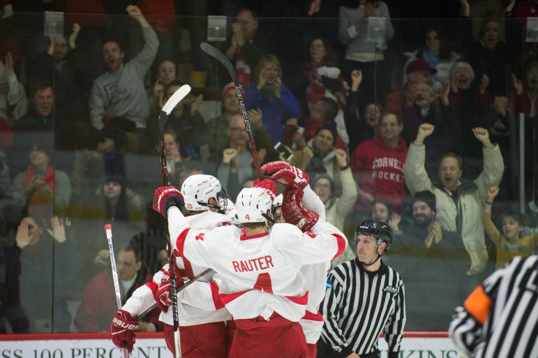 Despite a stronger showing from Quinnipiac, Cornell earned its place in the ECAC Championships with a 2-0 victory on Saturday.