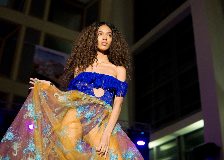 Afrika! Fashion Show on March 24, 2018.