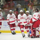 The top-seeded Red will host Quinnipiac in the ECAC quarterfinals next weekend.