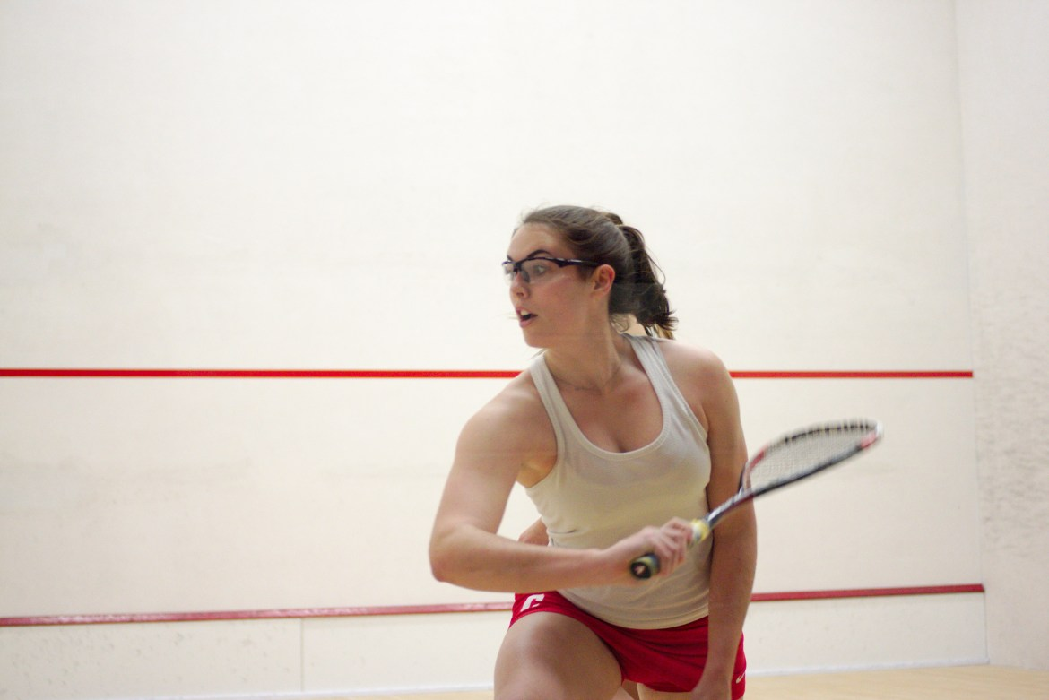 The squash teams had been eliminated in the national quarterfinals and were seeking to redeem themselves at the individual championships.