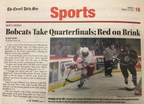 """It was a hard-fought, gritty series between two teams who clearly did not like each other,"" read The Sun's recap of the 2016 quarterfinal matchup."