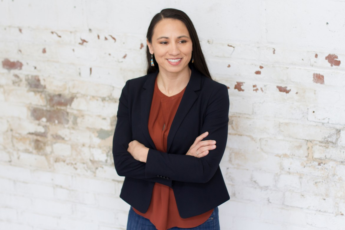 Sharice Davids J.D. '10 may become the first native women in congress