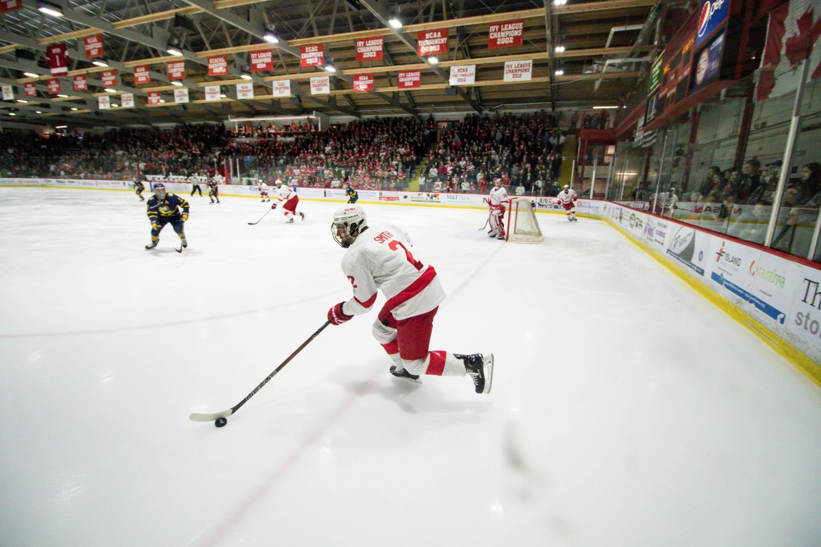 Cornell will open the 2018-19 on its home ice next year.