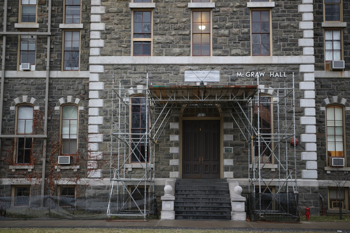 McGraw Hall Renovation Plan Back in Motion After 7-Year