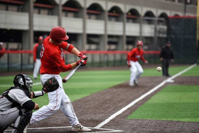 Cornell's baseball team took two games on Saturday in their series of three against Harvard.
