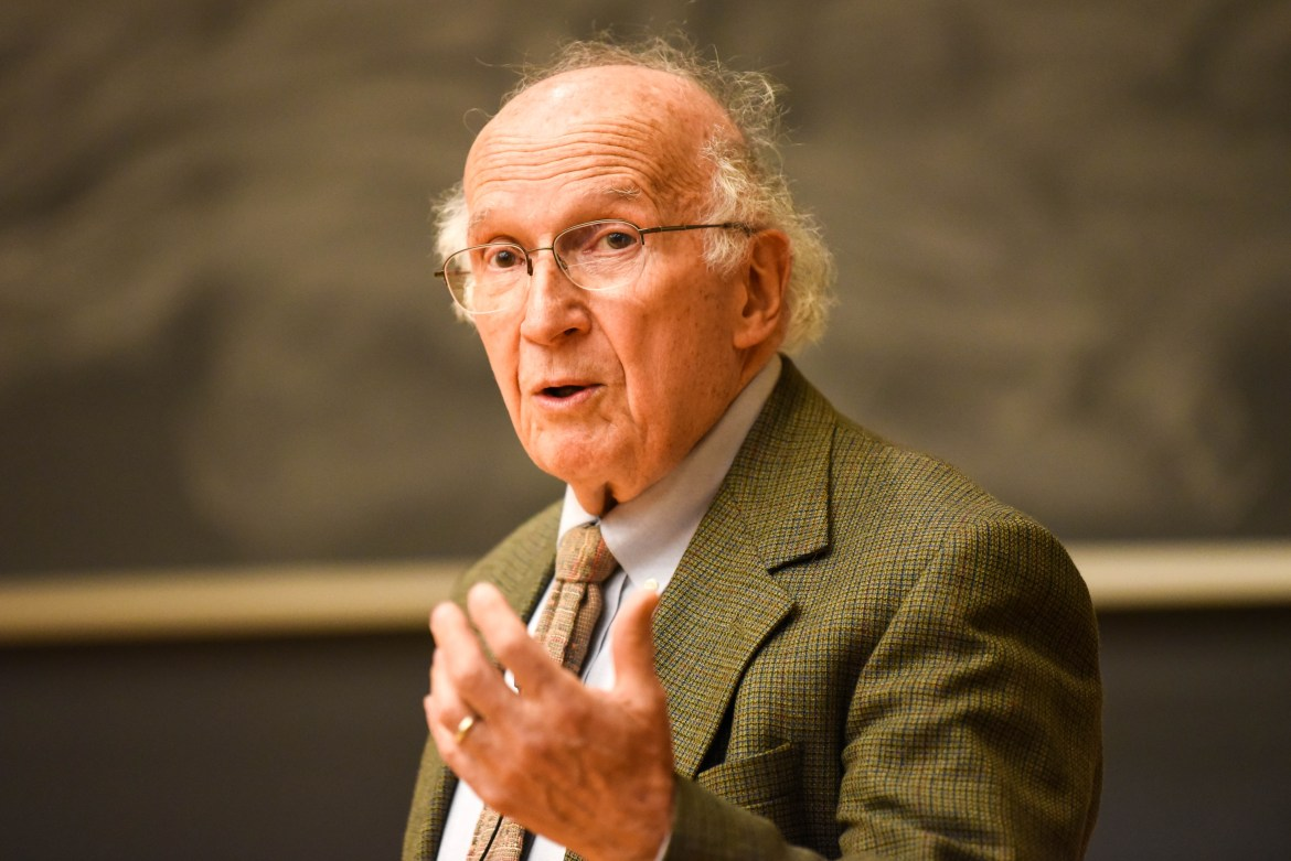 Nobel Prize recipient and professor emeritus Roald Hoffmann recounted his experiences as a Holocaust survivor at a Holocaust Remembrance Day ceremony.