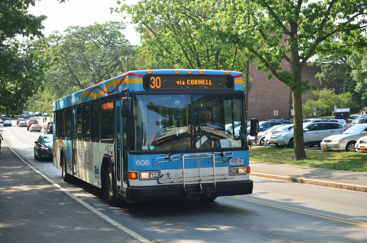 The new Ithaca Transit app includes live TCAT bus tracking and updates.
