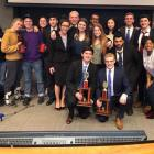 The Cornell Mock Trial teams attended the 2018 National Championship Tournament in Minneapolis from April 19 to 22.