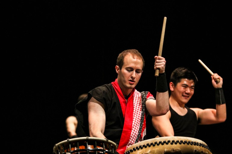 Yamatai performs at their annual showcase, PULSE, at Bailey Hall on Saturday night.