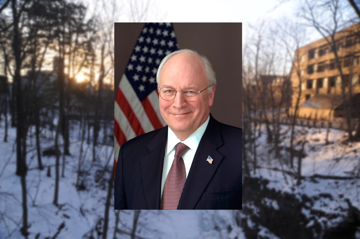 Dick Cheney, the 46th vice president.