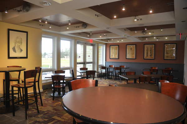 McCormick's, a new Cornell Dining eatery, is located at the Robert Trent Jones Golf Course.