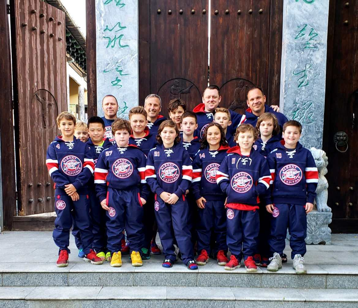 The Albany Capitals traveled to Russia to compete in an international youth hockey tournament, led by Cornell alumnus Brad Chartrand '96.