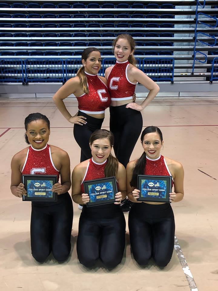 The Big Red Dance Squad earns top honors at the Universal Dance Association's College Spirit Camp.
