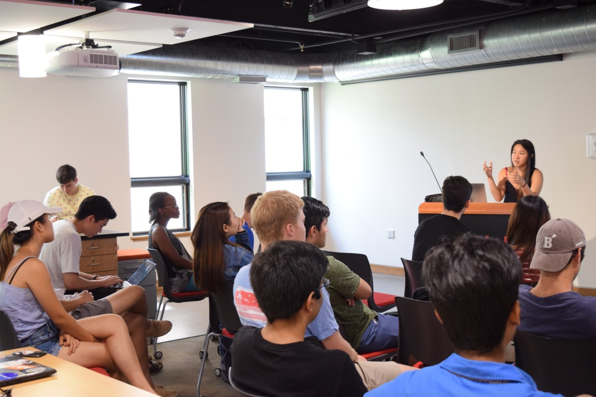 Life Changing Lab's summer incubator aims to guide students through the adjustment period of their products and company directions during the summer, according to its president Auston Li grad.