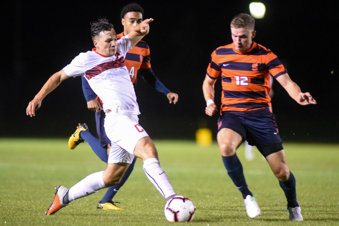 Comeback victories are starting to become the norm for Cornell mens' soccer.