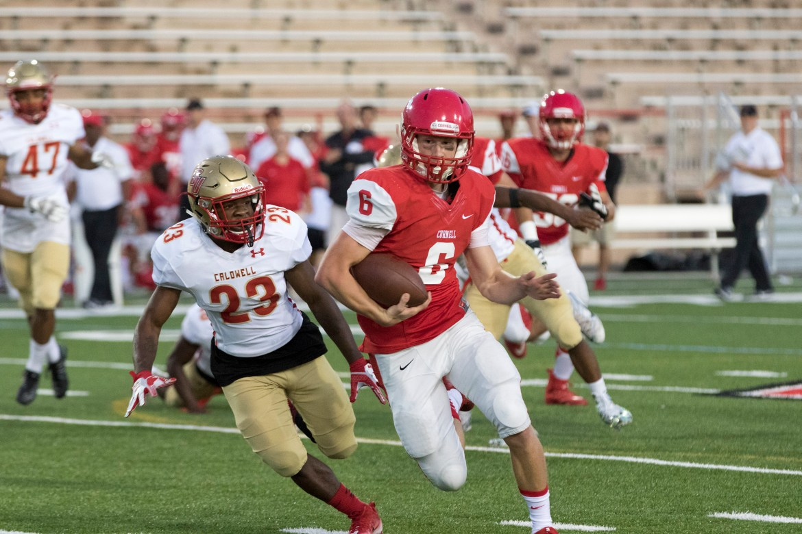 Senior Quarterback Connor Ostrander will play a key role for the Red's offense this season.