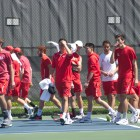 Evan Bynoe and Cornell men's tennis had a successful first competition.