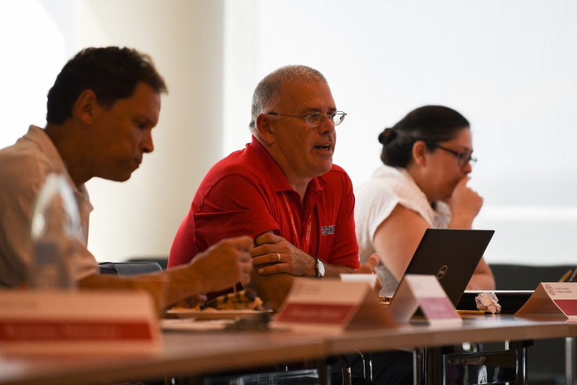 Nominations for the staff recognition award discussed on Wednesday include Cornell Health, Cornell Dining and Cornell IT.