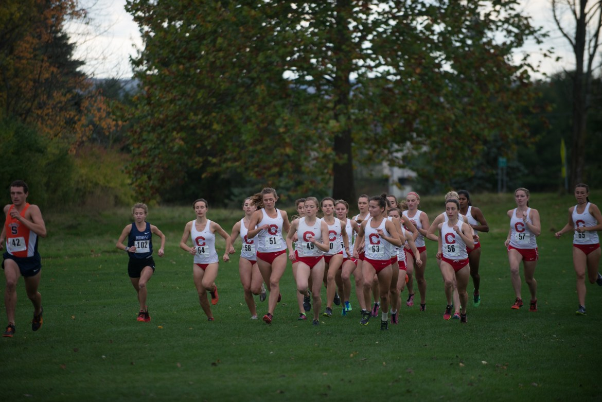 Women's cross country posted a strong showing in Pennsylvania over the weekend.