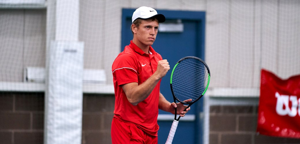 The Sun's Tim Morales sat down with men's tennis player David Volfson for a quick Q & A.