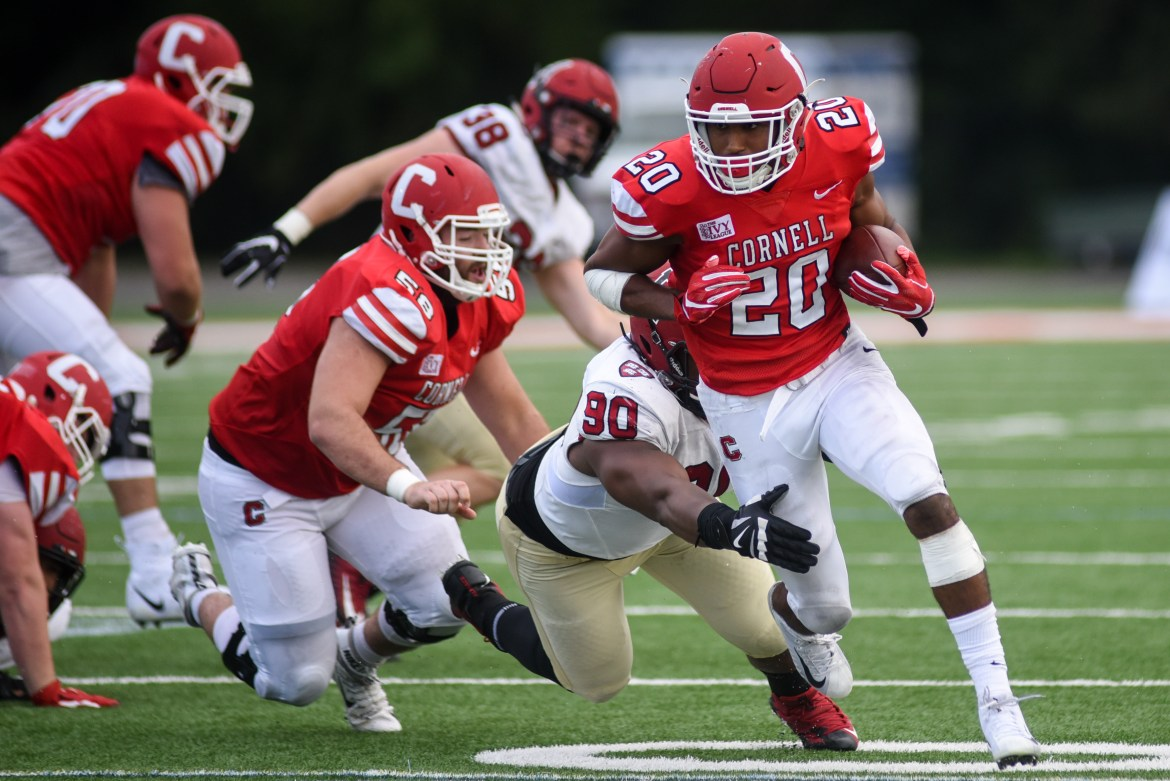Junior running back Harold Coles has been among the offensive bright spots for Cornell this season.