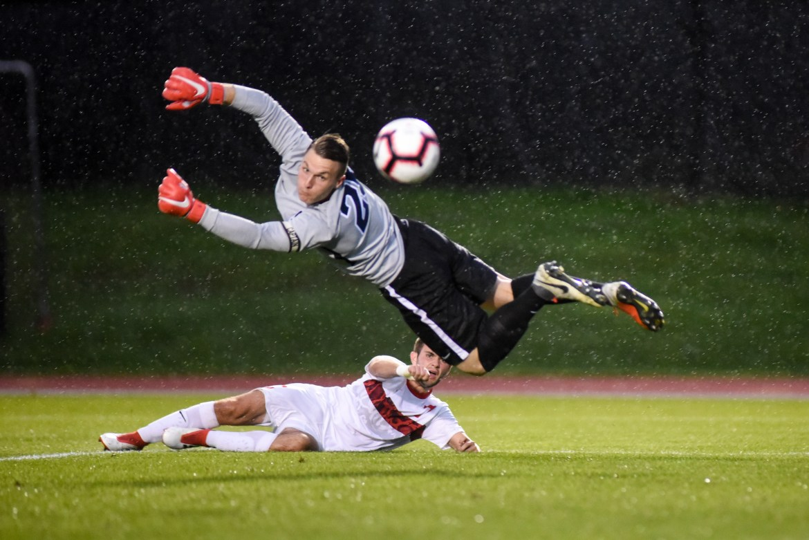 Men's soccer fell 2-0 this weekend to Princeton. The Red struggled to contain Princeton's explosive attack.