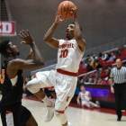 Cornell handled its crosstown rivals Tuesday night.
