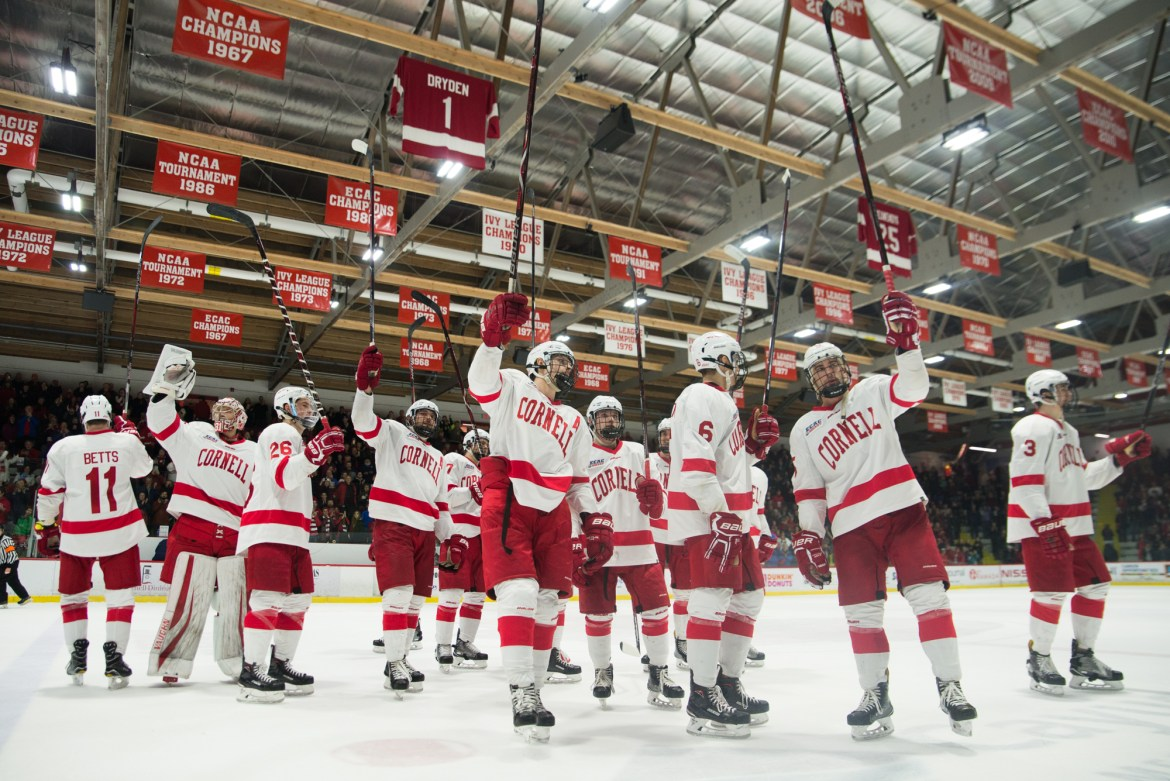 Columnist Jack Kantor argues that — despite hockey's failure to reach conference finals last season — Cornell's best in the nation defense, led by goaltender Matthew Galajda, should be enough to solidify the Red as the league's best team.