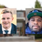 A Cornell freshman and custodian intervened when they saw a man attacking two women on North Campus Sunday. Ian Moritz '22, left, and Rogelio Gordon knocked the man off of a woman and kept him from fleeing until police arrived.