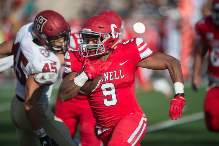 """The Red will be without senior running back Chris Walker (#9, above) """"long term."""""""
