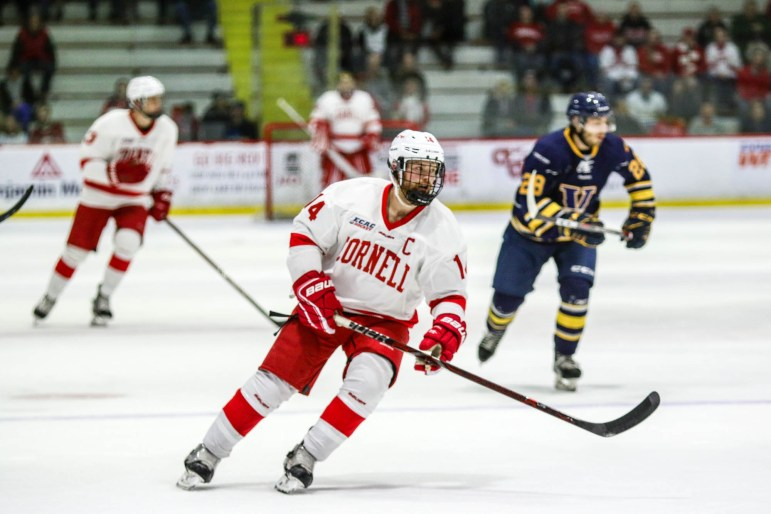 Among players returning for 2018-19, Vanderlaan led the Red in goals last season.
