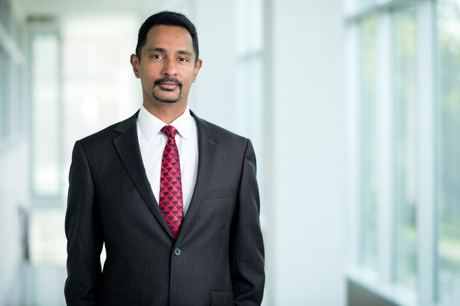 Dean Ray Jayawardhana recently received the Dwight Nicholson Medal for Outreach.