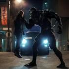 Venom (Tom Hardy) in the Venom film, directed by Ruben Fleischer.