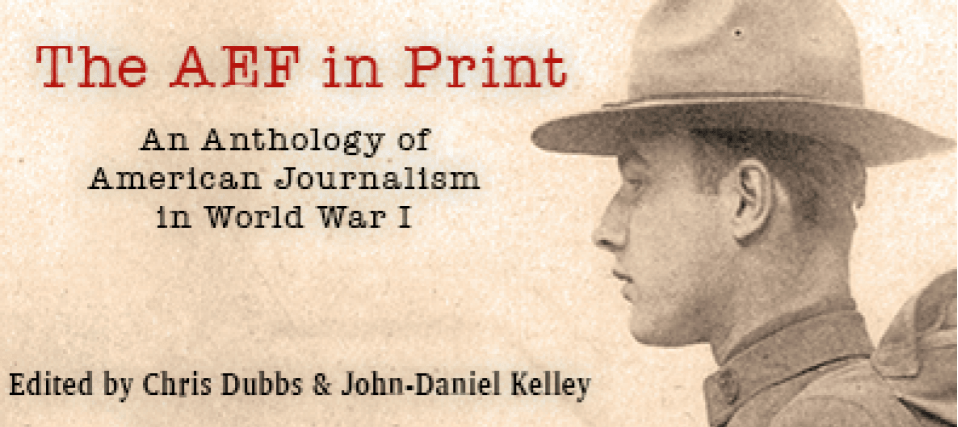 The anthology was released this year, 100 years since the signing of the 1918 armistice.