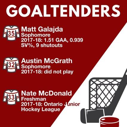 goaltenders