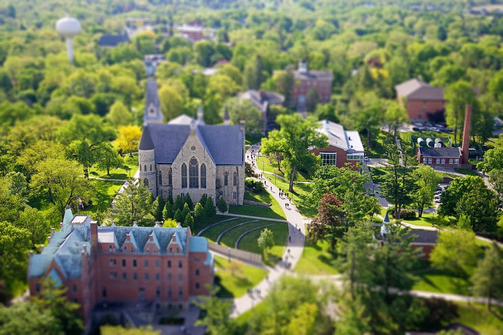 Cornell College in Mount Vernon, Iowa.