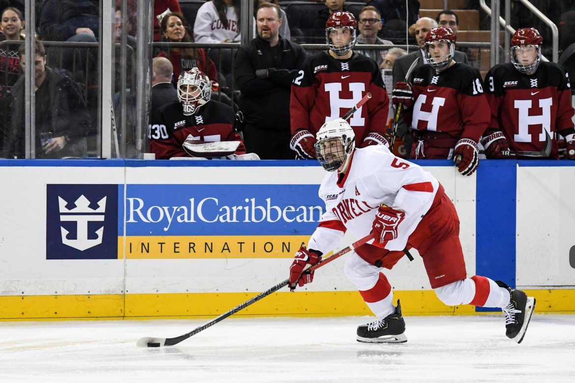 After falling flat at MSG, the Red gets another chance to take on rival Harvard this weekend.