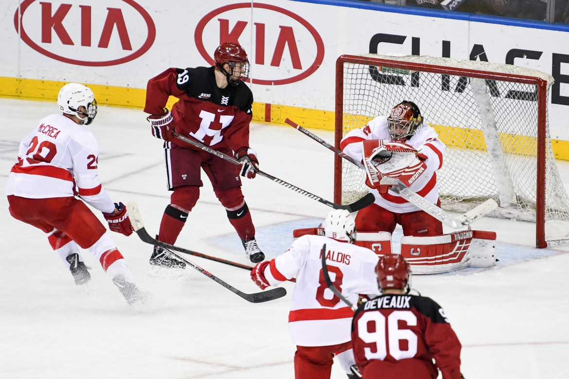 Reeling from last weekend's 4-1 loss to Harvard in front of a packed MSG crowd, Cornell will have the chance this Saturday to quickly prove its Crimson blunder a fluke.