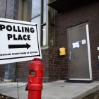 Polling location at Alice Cook House on November 6th, 2018. (Boris Tsang / Sun Assistant Photography Editor)