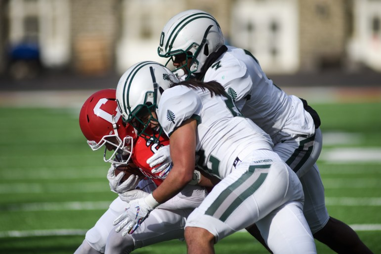 Dartmouth dashed Cornell's hopes of its first winning Ivy record since 2005.